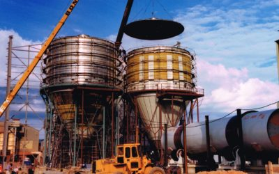 Historia. Montaje de dos atomizadores 1989.