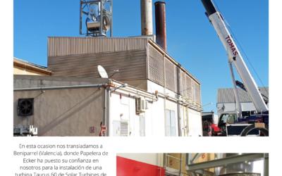 PAPELERA DE ECKER. Centro de cogeneración
